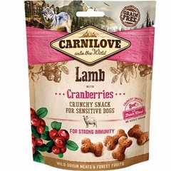 Carnilove Dog Crunchy Snack Lamb And Cranberries