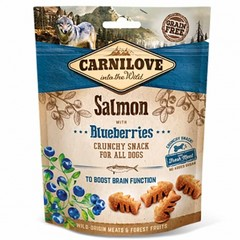 Carnilove Dog Crunchy Snack Salmon And Blueberries