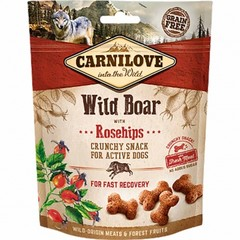 Carnilove Dog Crunchy Snack Wild Boar And Rosehips